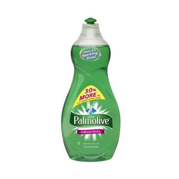 Ultra Palmolive Dishwashing Liquid, 25 oz. Bottle, 12/Carton