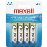 Maxell Aa 4pk Carded Batteries