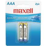 Maxell Aaa 2pk Carded Batteries