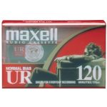 Maxell 120min Audio Tape Normal