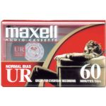 Maxell Audio Tape Normal Bias