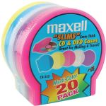 Maxell 20pk 5mm Replacemnt Slim Jewel