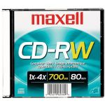 Maxell 80 Min Cd-rw Single