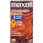 Maxell 180min High Quality Vhs Tape