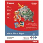 Canon 8x11 50 Matte Photo Ppr